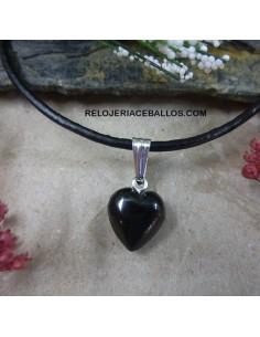 Corazón de Azabache artesano CRP