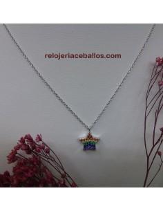 Estrella Multicolor Gargantilla 681-0052