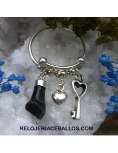 Sortija Protectora con Amuletos 340-0203