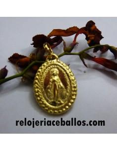 Medalla Milagrosa de Plata y Chapada 6619