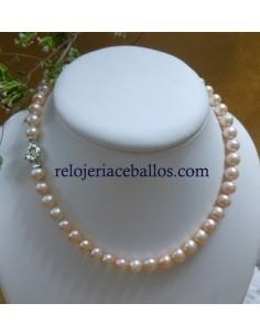 Collar de Perlas Cultivadas 40 cm PS89