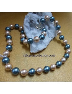 Collar de Perlas de Colores