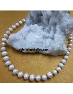 Collar de Perla Cultivada y Plata CR7