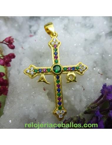 Cruz de La Victoria Chapada 102-0174