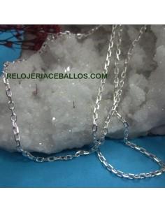 Cadena forzada de plata CFR5