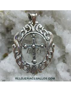 R156 Cruz de Asturias con Orla en plata