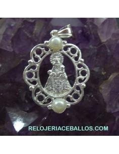 R1098 Santina de Covadonga con perlas
